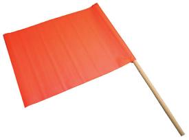 Blast Area RED flag
